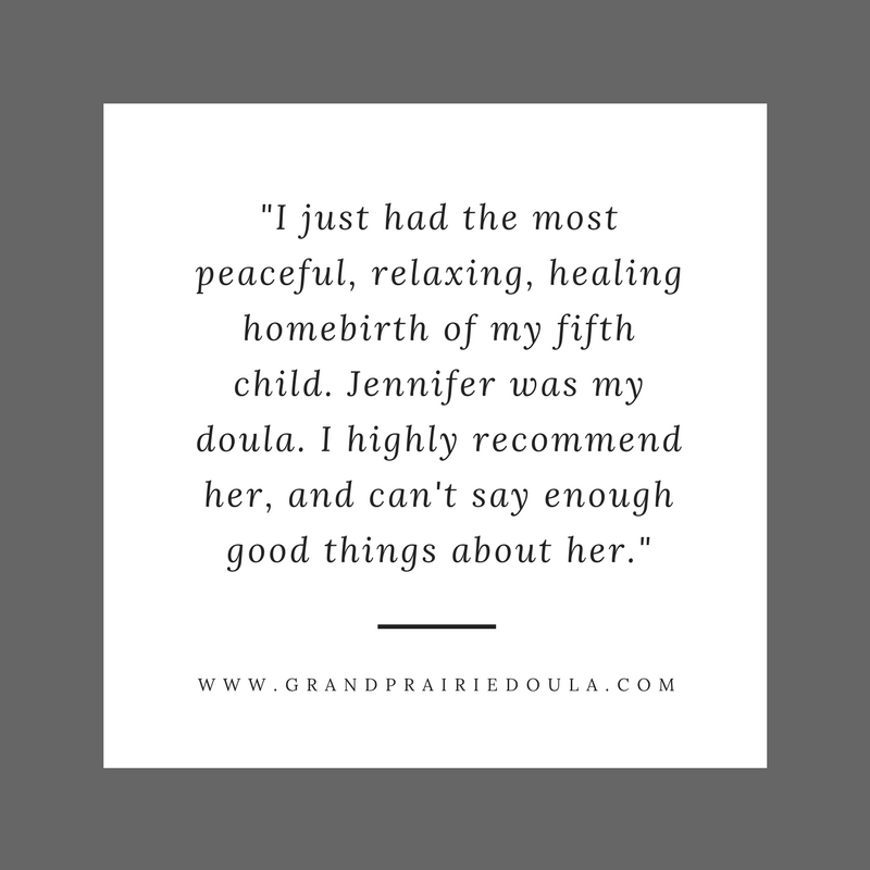 doula homebirth dallas